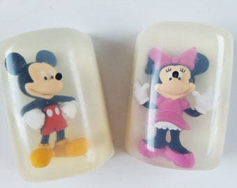 Mouse soap-grape soda fragrance, kids bath, fairy tale, bath time, toy soap, kids soap, childrens soap, figurine soap, cartoon character