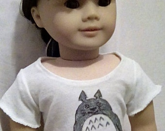 Totoro inspired shirt