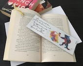 Beauty and the Beast // Vinyl Bookmark