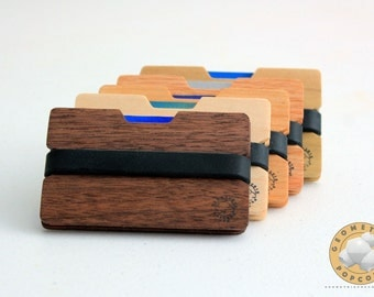 Wooden Wallet, Credit Card Holder