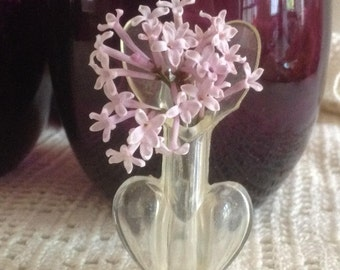 Vintage Florapin -- Plastic Brooch That's a Vase