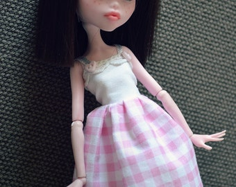 Monster High - Pink dress and bow