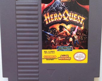 HeroQuest - NES Reproduction
