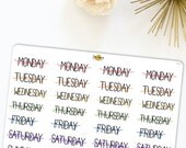 Weekly Headers | Made for your bullet journal. 468L