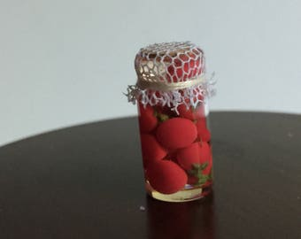Miniature Dollhouse 1:12 Scale Canned Whole Tomatoes