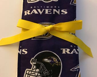 Burp Cloth Baltimore Ravens