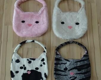UniCat Purse - fluffy cat girls purse