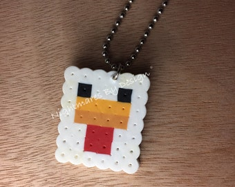 Minecraft Chicken Necklace.