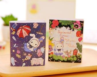 Sentimental Circus Memo Pad, 6-Fold, Super Set, Write Notes, San-X, Paper, Cute Kawaii Stationary
