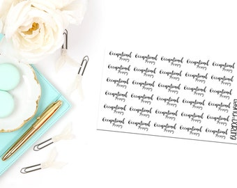 Occupational Therapy Hand Letter Planner Stickers