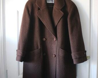 Vintage 1970s Windsmoor Brown Coat