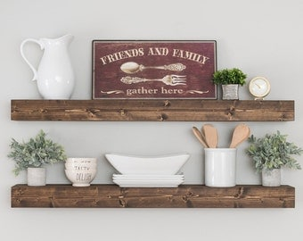 Floating Shelf, Floating Shelves, Shelf, Nursery Shelf, Bathroom Shelf, Kitchen Shelf, Rustic Shelf, Farmhouse Decor, Farmhouse Shelves