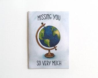 Long Distance Relationship Card - Long Distance Love - LDR Card - Card for Long Distance Boyfriend - Card for Long Distance Girlfriend
