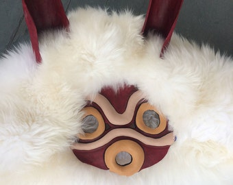Princess Mononoke Mask and Ears
