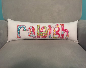 Personalized Name Accent Pillow