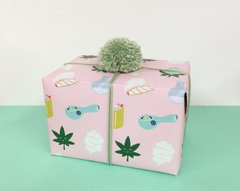 Wrapping Paper / Happy Bud & Friends