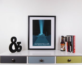 Interstellar Print, Minimalist Movie Poster