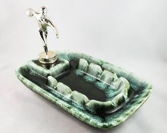 Vintage Bowling Trophy Ashtray