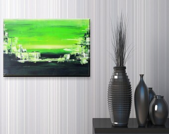 Original Abstract Acrylic Painting - Neo - 40x60 cm