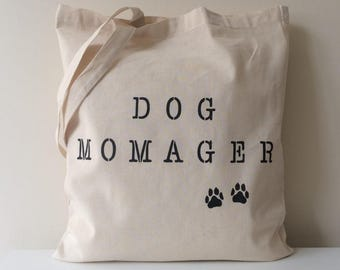 Dog Momager Tote Bag