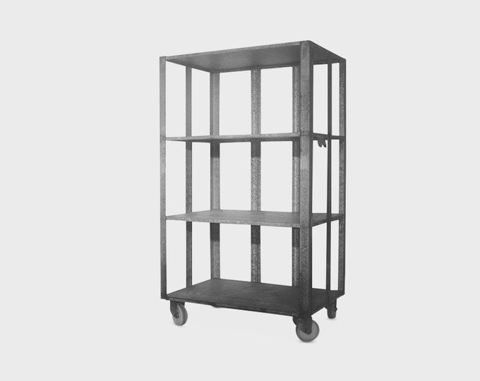 Industrial Metal Rolling Racks