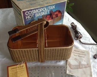 Hot Basket Bread /Potato/Cookie Server