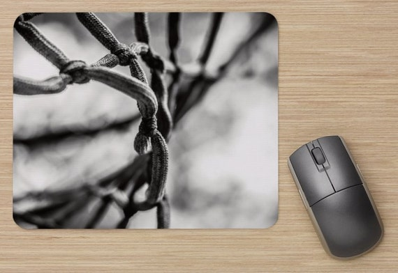 Net Mouse Pad - Basketball Mousepads - Sports Computer Mat - Office Accessories - Office Decor - Desk Accessories - Office Gifts