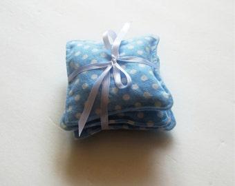Lavender Sachet Set, Diaper Bag Sachet, Diaper Bag Freshener, Baby Shower Gift, Organic Lavender Sachet, New Mom Gift