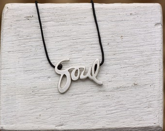 Soul Cycle SOUL Pendant Sterling Silver. 3 Sizes Available. Limited.