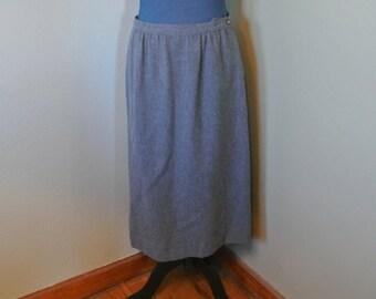 Pendleton Virgin Wool A Line Skirt