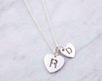 New Mum Necklace | Mum-To-Be | Tiny heart Necklace | Necklace For New Mum | Family Necklace | Mommy Baby Necklaces | New Mom Necklace