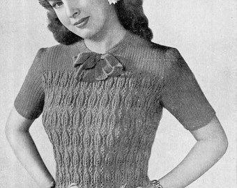 1940s Jumper Pattern