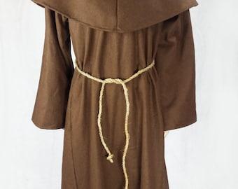 Medieval munk robe