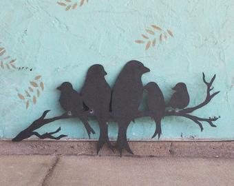 Birds Metal Wall Decor