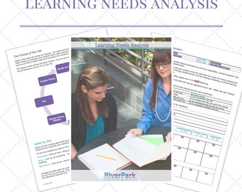 Learning Needs Analysis