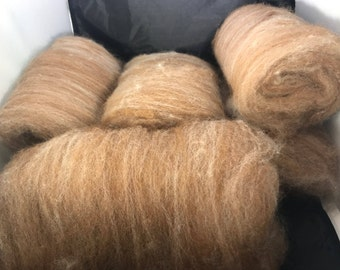Natural Colored California Red and Alpaca 50/50 6 oz s
