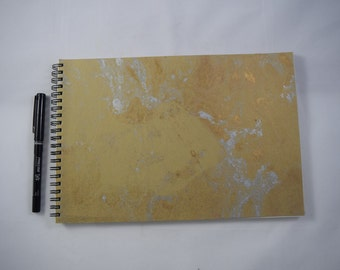 Handmade Sketchbook, Large sketchbook, Colorful sketchbook