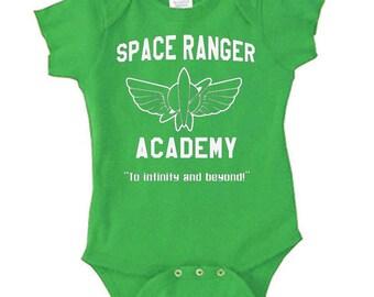 Disney Baby Shirt Space Ranger Academy Toy Story Shirt Buzz Lightyear Shirt Disneyland Shirt Disney World Shirt  Magic Kingdom Shirt