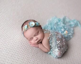 Lace Fringe Newborn Wraps, Lace wraps