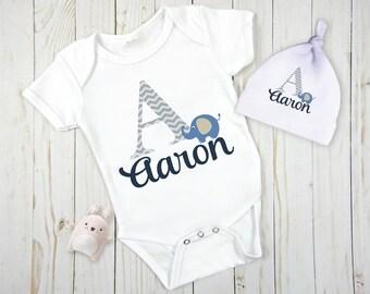 Elephant Baby Gift, Elephant Baby Bodysuit, Elephant baby Boy Gift, Elephant Baby Shower, Elephant Baby Gift Set, Elephant Baby Shower, Baby