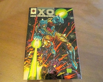 New Price!  X-O MANOWAR (1992-1996) No. 0 GOLD by Valiant Comics