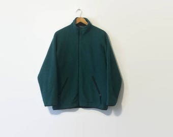 1990s Patagonia Synchilla Fleece Zip-Up Jacket L