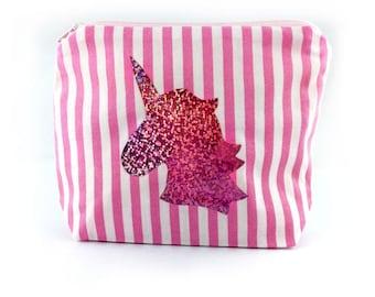 Cosmetic bag Makeup bags makeuptasche Unicorn believe in unicorns