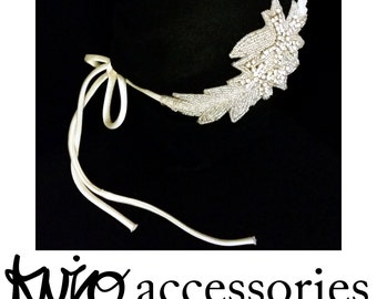 Wing Bridal Hair Accessory