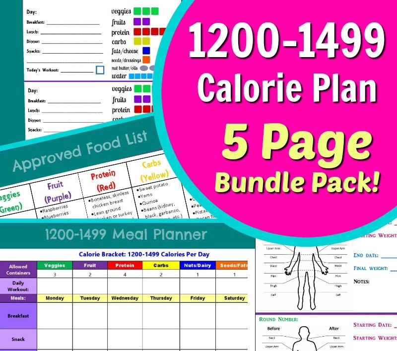 1200 Calorie Meal Plan Printable Great Home Inteiror