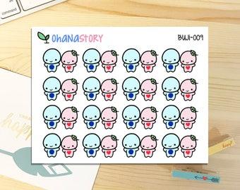 Buji - DATE NIGHT - Planner Stickers (BUJI-009)