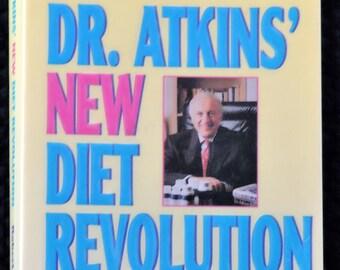 Vintage Book - Dr. Atkin's New Diet Revolution by Robert C. Atkins, M.D.