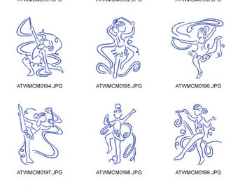 Art-Deco-Artistic-Gym ( 10 Machine Embroidery Designs from ATW )