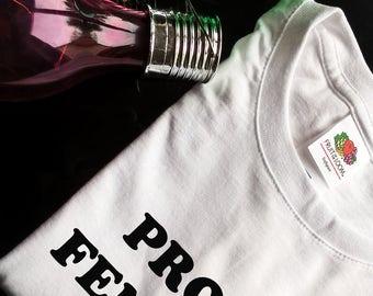 proud feminist womens clothing feminist tshirt feminist shirt feminist top tee feminism top tee feminism tshirt gift for feminist womens top