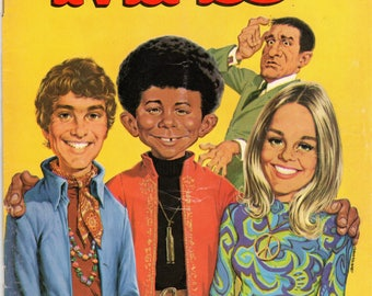 MAD Magazine #127 The Mod Squad Parody June 1969 Issue